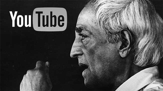 Banner for the Krishnamurti Foundation YouTube channel